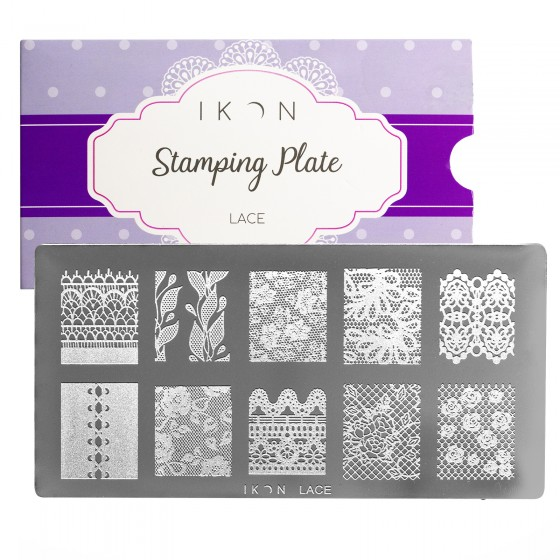 Stamping Plate Lace