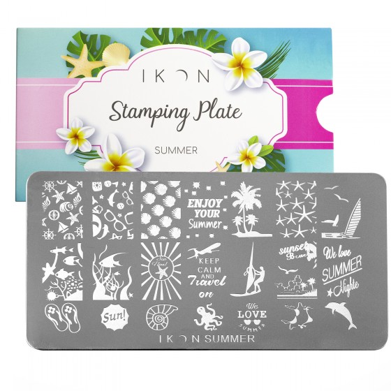 Stamping Plate Summer