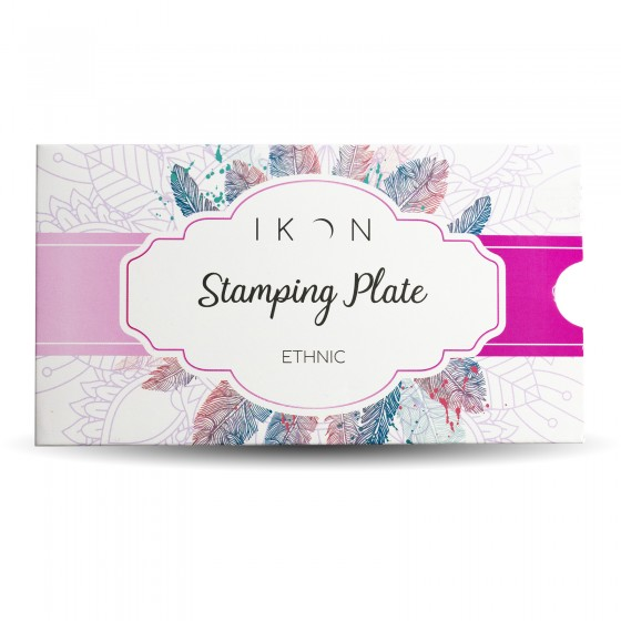 Stamping Plate Ethnic