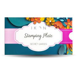 Stamping Plate Secret Garden