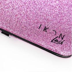 Cofanetto Magnetico porta Pinzette Rosa Glitterato